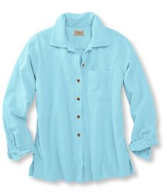 Comfort Corduroy Big Shirt: Corduroy and Flannel   Free Shipping at L.L.Bean