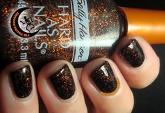 ThePolishHoochie: Sally Hansen Hard as Nails Witches' Brew! Layered over Illamasqua Boosh! Witches Brew, Sally Hansen, My Nails, Brewing, Nail Polish, Lips, Hair, Beauty, Brow Bar