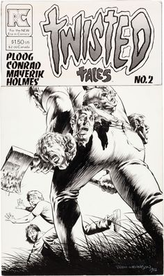 Bernie Wrightson Twisted Tales #2 Cover Original Art (Pacific Comics, 1983)