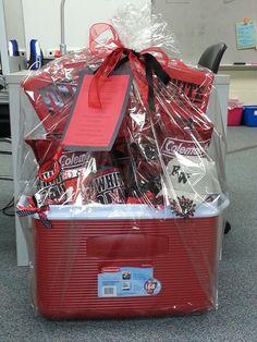 Third Grade's PTO basket. I just had to put it on here because it is sooooooo beautiful!