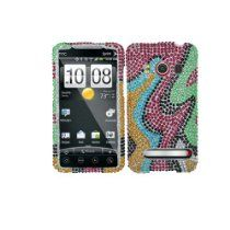 Zizo offer Premium Bling Rainbow Design Full Rhinestone Diamonds Hard Case Cover for HTC Evo 4G. This awesome product currently limited units, you can buy it now for  $9.95, You save - New