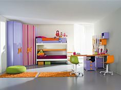 High Definition: Creative Bedroom Designs For Teens and Kids By ZG
