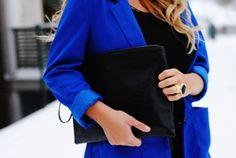 blue blazer<3