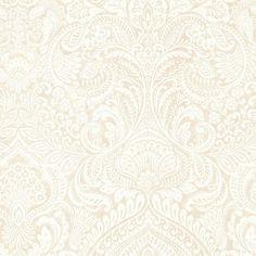 Alistair Cream Damask Wallpaper