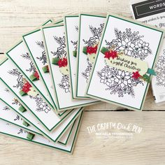 Crafty, Cards For Friends, Inspire Others, Stampin Up, Playing Cards, Paper Crafts, Notebook, Bullet Journal, Words