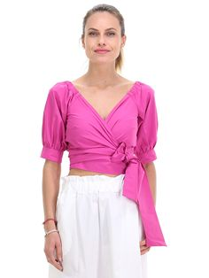 dde7f0501 29 mejores imágenes de Blusa fucsia | Color combos, Fashion beauty y ...