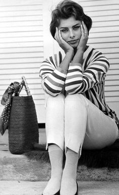 Sophia Loren  1950's Vintage Always thought she was probably the prettiest lady actor...Such Class...