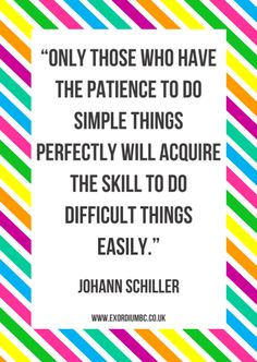 #patience and #simplicity = #perfection #QOTD