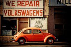 """""""we repair volkswagens"""" by sam_ on flickr"""