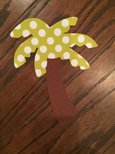 Palm Tree Iron On Applique You Choose Fabric by EllaBaDellas