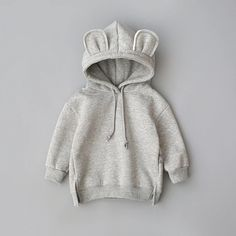 2019 New Spring Autumn Baby Boys Girls Clothes Cotton Hooded Sweatshirt Children's Kids Casual Sportswear Infant Clothing Toddler Outfits, Kids Outfits, Baby Outfits Newborn, Boy And Girl Cartoon, Hooded Sweatshirts, Hoodies, Bear Hoodie, Boys And Girls Clothes, Baby Coat