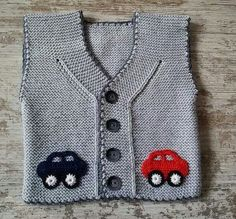 Baby Vest Decoration Techniques – Knit Vest Decorations for Babies – TC Arzu Parlak – Join the world of pin Baby Knitting Patterns, Crochet Baby Dress Pattern, Baby Dress Patterns, Knitting For Kids, Crochet For Kids, Free Knitting, Knit Crochet, Cardigan Bebe, Baby Cardigan
