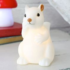 Baby Squirrel Night Light - home