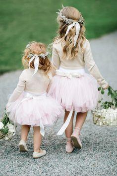 tutu flower girls | Photography: STUDIO 1208