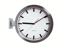 Wall clock Double Sided from the Karlsson 'Originals' range