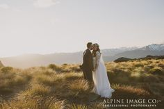 That light!! Epic mountains make for stunning backdrops in Queenstown, New Zealand. Photography by Alpine Image Company
