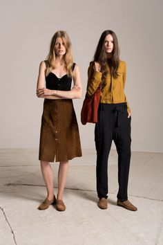 A.L.C., Look #4 Pants and shirt on the Right. Simple, classic, relaxed, wearable.