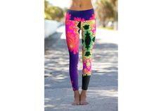 17c152655aeb The Many Options You Have for Colorful and Patterned Yoga Leggings. Where  to Buy Those Crazy ...