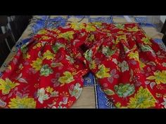 How To Cut and Stitch Semi Patiala Salwar (easy way) - YouTube