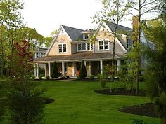 This is my dream house but i would change the colors to a light yellow and keep the trim work to white
