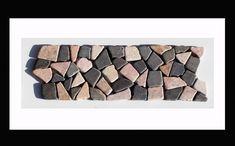 Bordüre Naturstein Mosaikfliesen Auf Netz   Bordüren, Die Sowohl Im Kontext  Mit Unser Mosaik