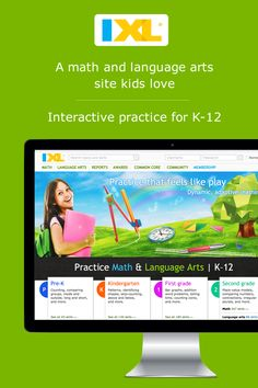 Make practice feel like play with fun, interactive questions on IXL.com!