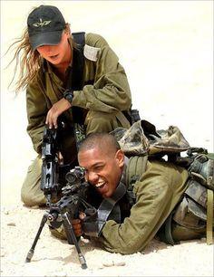 IDF Woman instructor