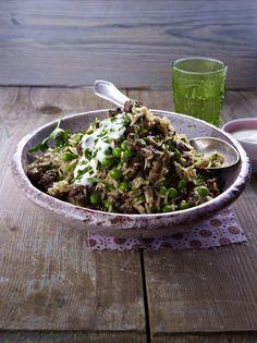 Erbsen-Lamm-Reis Rezept
