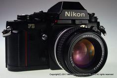 NIKON F3 35mm Film Camera with AI-S 50mm f/1.4 Excellent+ #Nikon