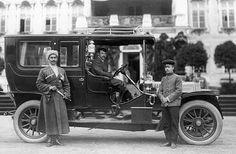 """Tsaarin """"Benz"""" Tsarskoje Selossa 1911"""