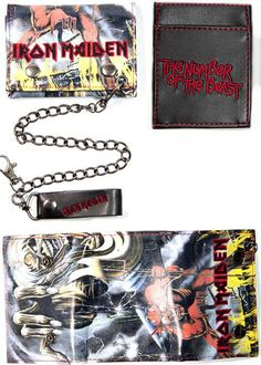 Iron Maiden, Wallet, Number Of The Beast