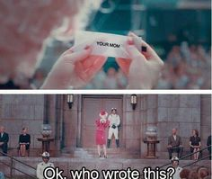 Your Mom haha hunger games