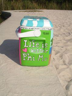 Phi Mu Cooler