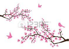 Tableau Cerisier Japonais : 93 meilleures images du tableau cerisier japonais cherry tree japanese cherry tree et flower ~ Nature-et-papiers.com Idées de Décoration