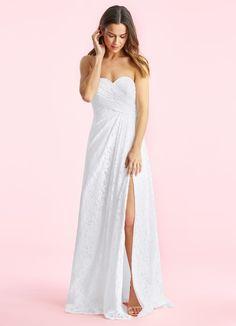 5df498e96f3 Azazie Billie BG. Strapless GownPerfect Wedding DressBridal GownsWedding ...
