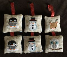 How to make cross stitch Christmas ornaments — Carrie Actually by Carrie Merrell