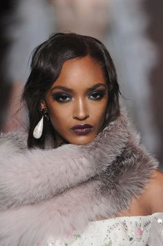Jourdan Dunn at Christian Dior F/W 2011