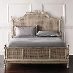 Shabby Chic Upholstered Headboard Inspirational Beauvier French Cane Bed Antique White King Best Of Shabby Chic Upholstered Headboard Shabby Chic Cane Furniture, Bedroom Furniture Sets, French Furniture, Furniture Design, Cheap Furniture, Furniture Stores, Furniture Dolly, Furniture Ideas, Brown Furniture