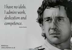 Inspirational Quote from Ayrton Senna #SMDriver #Formula1 #F1