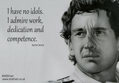 Inspirational Quote from Ayrton Senna #SMDriver #Formula1 #F1