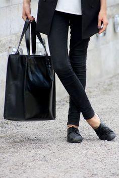 fashionisendless:  I always wear similarjeansand shoes :) Best...