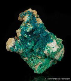 In large liroconite specimen valuable treasured item unique color add