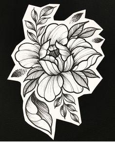 Future tattoos, new tattoos, rose tattoos, black tattoos, floral tattoo . Floral Tattoo Design, Flower Tattoo Designs, Tattoo Designs For Women, Flower Tattoos, Tattoos For Women, Tattoo Floral, Neue Tattoos, Body Art Tattoos, Tattoo Drawings