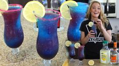 The Galaxy Cocktail - Tipsy Bartender (party drinks alcohol tipsy bartender) Tipsy Bartender, Bartender Recipes, Cocktails, Cocktail Drinks, Cocktail Recipes, Drink Recipes, Alcohol Recipes, Cooking Recipes, Party Drinks Alcohol