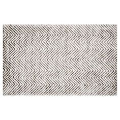 Check out this item at One Kings Lane! Benci Rug, Ivory/Gray