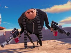 I got: Gru!! Which Despicable Me 2 Character Are You?