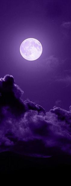 shades of purple Purple Love, All Things Purple, Purple Rain, Shades Of Purple, Purple Stuff, Dark Purple, Shoot The Moon, Moon Pictures, Beautiful Moon