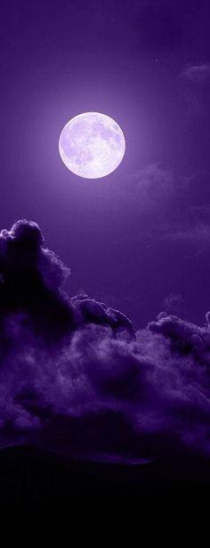 Purple Moon. Up on PurpleUmpkin.