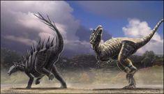 El Allosaurio  Llamado tambien reptil extraño media 12m y pesaba 7 toneladas, este dinosaurio le han puesto el apodo del león del jurasico era el mayor depredador de su epoca si el queria podia comer seismosaurios pero jóvenes claro.