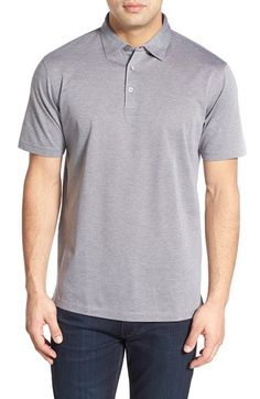 Peter Millar 'Take Five' Regular Fit Short Sleeve Polo Shirt. #petermillar #cloth #